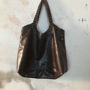 Boho Large vegan hobo bag